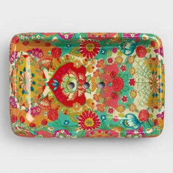 Bettina Floral Soap Dish