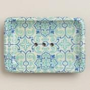 Turquoise Tile Soap Dish