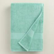 Sea Blue Cotton Bath Towel