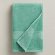 Sea Blue Cotton Hand Towel