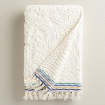 Emilia Sculpted Bath Towel