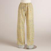 Yellow Floral Prisha Pajama Pants