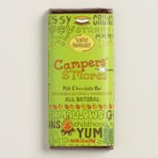 Seattle Campers' S'Mores Milk Chocolate Bars, Set of 2