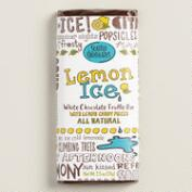 Seattle Lemon Ice White Chocolate Bars, Set of 2