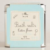 Parisian Cotton Flower Sea Salt Bath Crystals