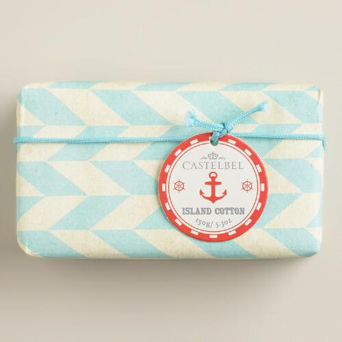 Castelbel Island Cotton Nautical Bar Soap