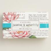 Castelbel Typography Jasmine & Waterlily Bar Soap