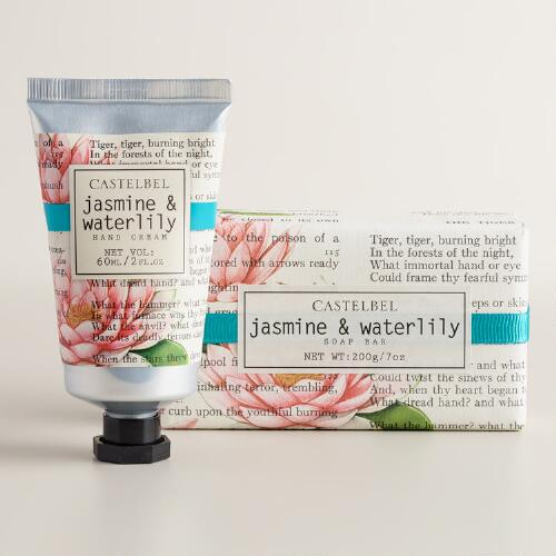 Castelbel Jasmine and Waterlily Hand Care Collection