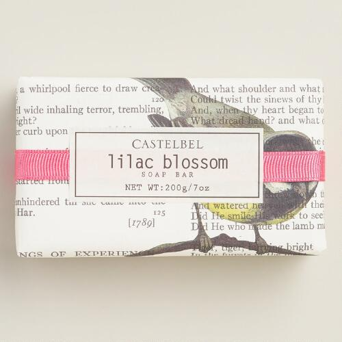 Castelbel Typography Lilac Blossom Bar Soap