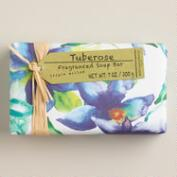 A&G Tuberose Watercolor Bar Soaps, Set of 2