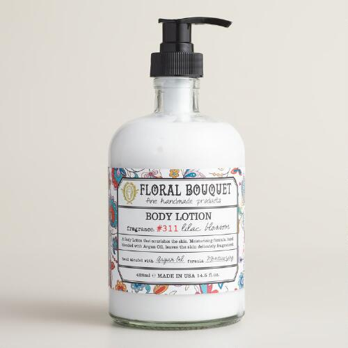 Floral Bouquet Lilac Blossom Hand Lotion