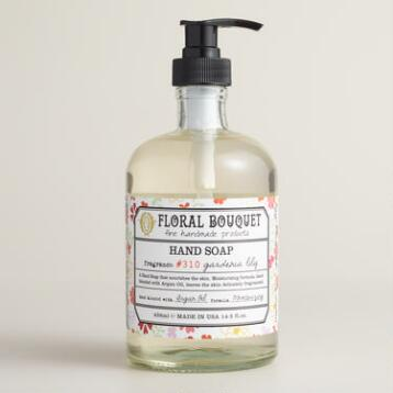 Floral Bouquet Gardenia Lily Hand Wash