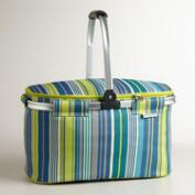 Cote Stripe Insulated Collapsible Tote Bag