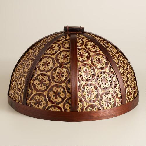 Truntum Woven Bamboo Food Dome