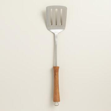 Wood Handle Barbecue Spatula