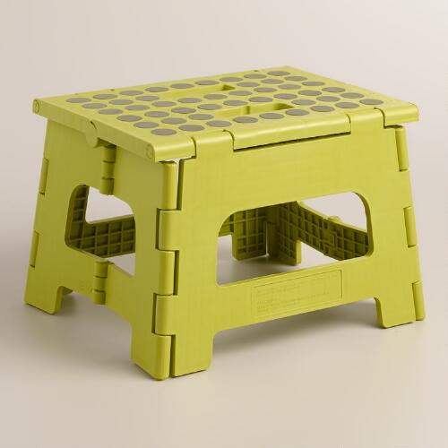 Apple Green Kikkerland Foldable Stepstool