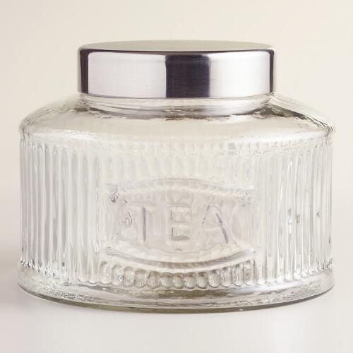 Glass Tea Jar