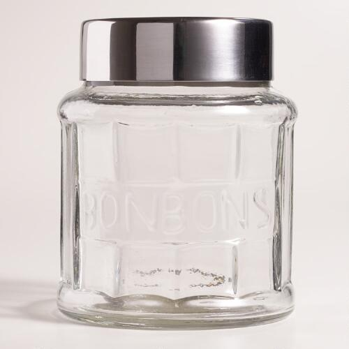 Glass Bonbon Jar