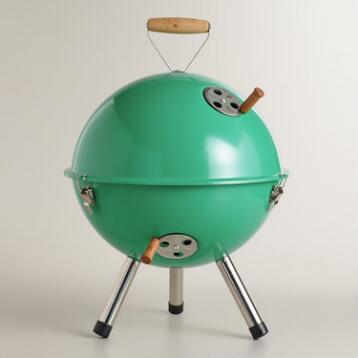 Mini Lagoon Blue Charcoal Barbecue Grill