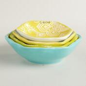 Spring Ceramic Measuring Cups
