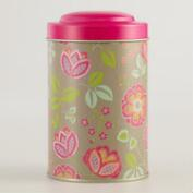 Fuchsia Louisa Tea Tins, Set of 4