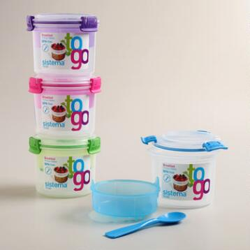 Klip-It Breakfast-to-Go Container