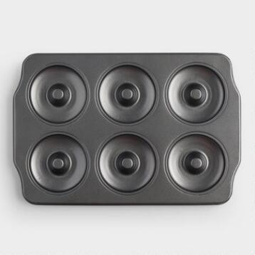 Metal 6-Cavity Mini Donut Baking Pan