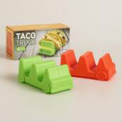 Taco Trucks Taco Holders, 2-Pack