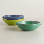 Terracotta Tapas Bowls, Set of 3