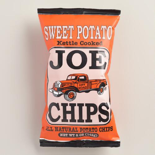 Joe Chips Sweet Potato Kettle Chips