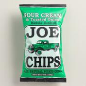Joe Chips Toasted Onion and Sour Cream Kettle Chips