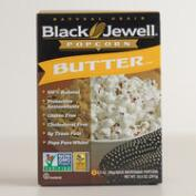 Black Jewel Buttered Microwave Popcorn, Set of 6