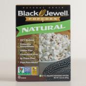 Black Jewel Natural Microwave Popcorn, Set of 6