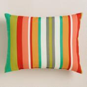 Capri Stripe Outdoor Lumbar Pillow