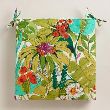 Fiji Foliage Outdoor Chair Cushion
