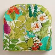 Fiji Foliage Gusseted Outdoor Chair Cushion