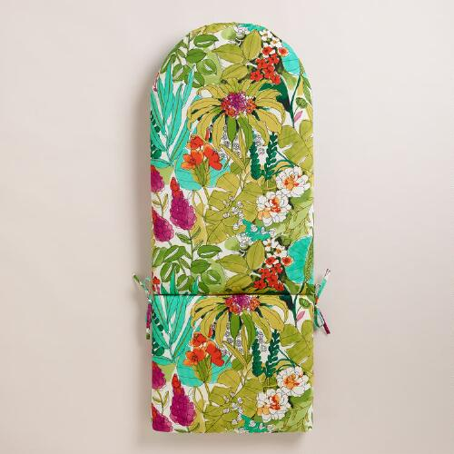 Fiji Foliage Adirondack Chair Cushion