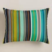 Cote Stripe Outdoor Lumbar Pillow