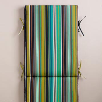 Cote Stripe Chaise Lounger Cushion