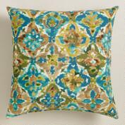 Casablanca Tiles Outdoor Throw Pillow