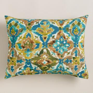 Casablanca Tiles Outdoor Lumbar Pillow