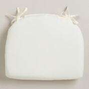 White Cadiz Outdoor Chair Cushion