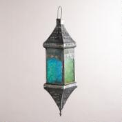 Cool Multicolor Medium Square Hanging Lantern