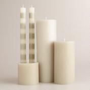 Gray Unscented Candle Collection