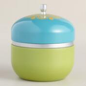 Evening Tuberose Color Block Candle Tin