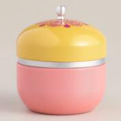 Guava Color Block Candle Tin