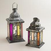 Warm Multicolor Tabletop Lantern