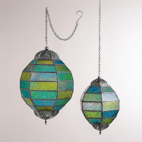 Cool Multicolor Globe Hanging Lantern