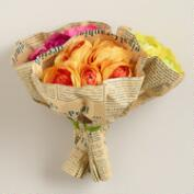 Mixed Faux Ranunculus Bouquets, Set of 3