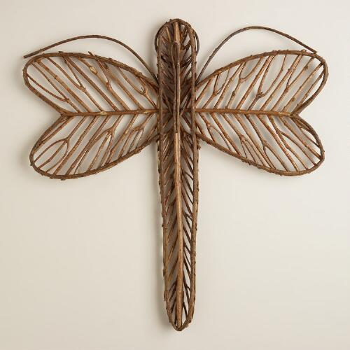 Dragonfly Twig Wall Decor